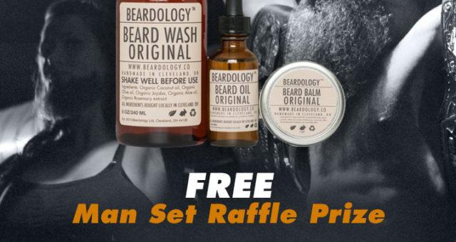 Free Raffle from our presenters Beardology