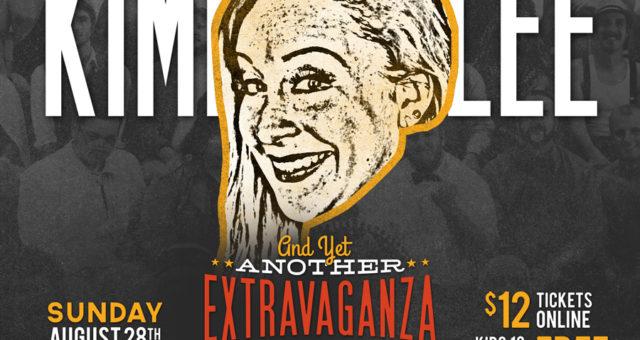At the Extravaganza: Kickin' Kimber Lee