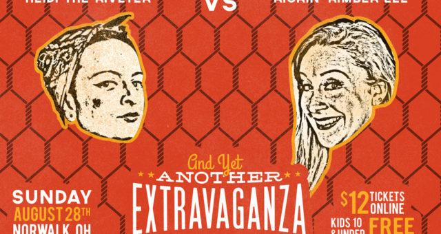 Ladies Wrestling: Heidi the Riveter vs Kickin' Kim
