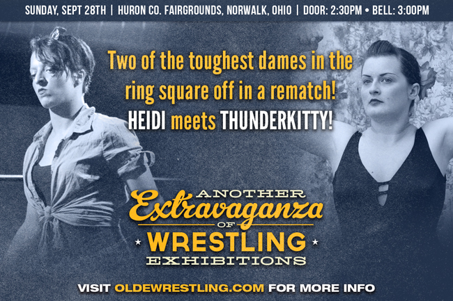 Heidi the Riveter vs. Thunderkitty - Another Extravaganza of Wrestling Exhibitions