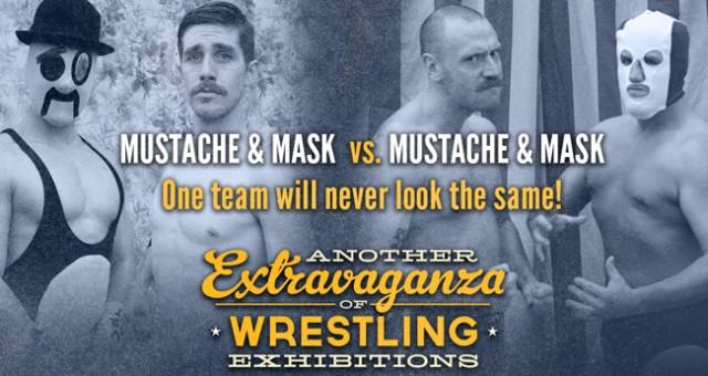 Mustache & Mask vs. Mustache & Mask