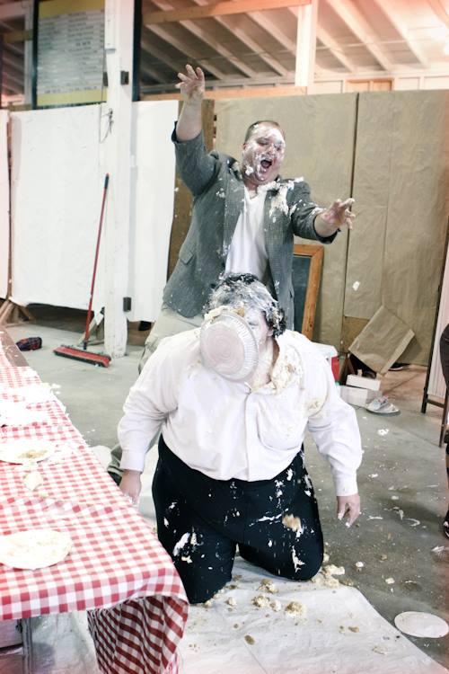 Pie Eating Contest - Sue Jackson & Rory
