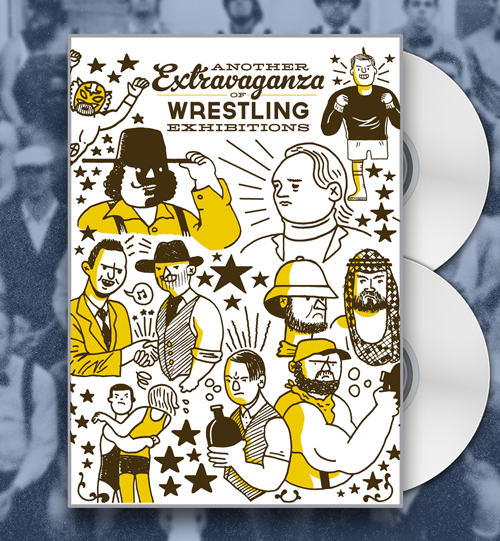 Another Extravaganza DVD art by Box Brown