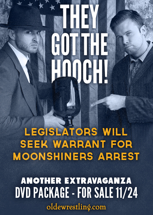 Legislators got the hooch!