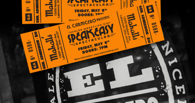 Speakeasy Tickets Available!