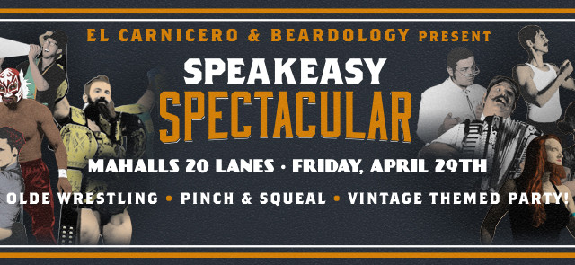 Speakeasy Spectacular returns to Mahall's on 4/29