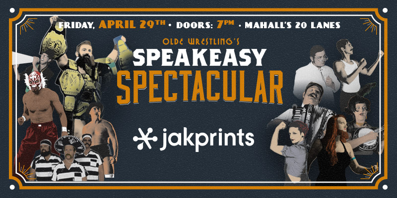 Speakeasy Spectacular at Mahall's '16