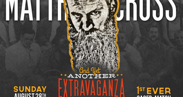 At the Extravaganza: World Champion Matthew Cross