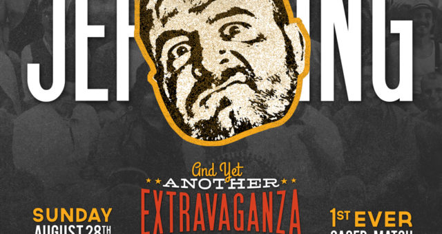 At the Extravaganza: 'Old Timer' Jeff King