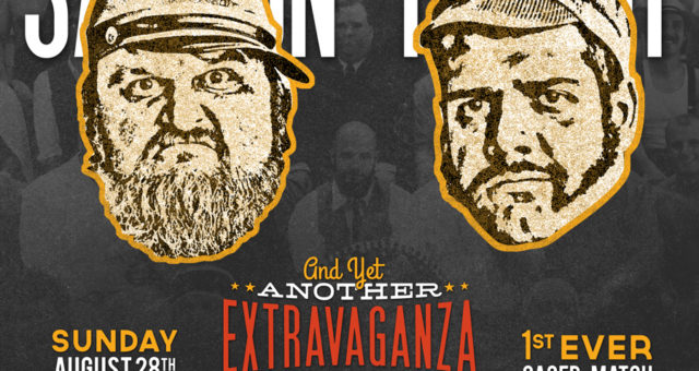 At the Extravaganza: Moonshinin' Men