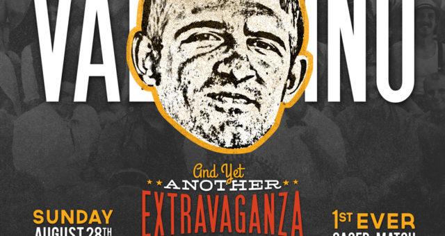At the Extravaganza: Nicholas Valentino