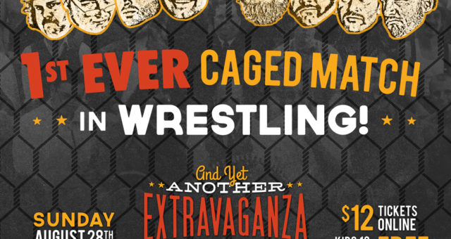 Get ready for the first EVER Caged Match!
