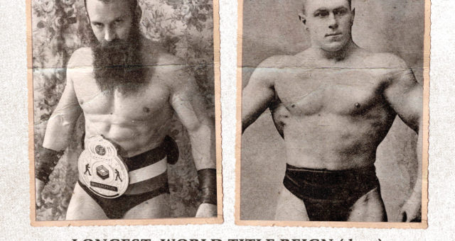 Matthew Cross passed George Hackenschmidt