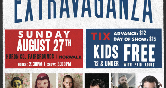 The 5th Extravaganza on August 27th