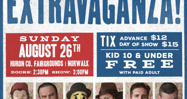 Olde Wrestling's Extravaganza is Sunday, August 26th!