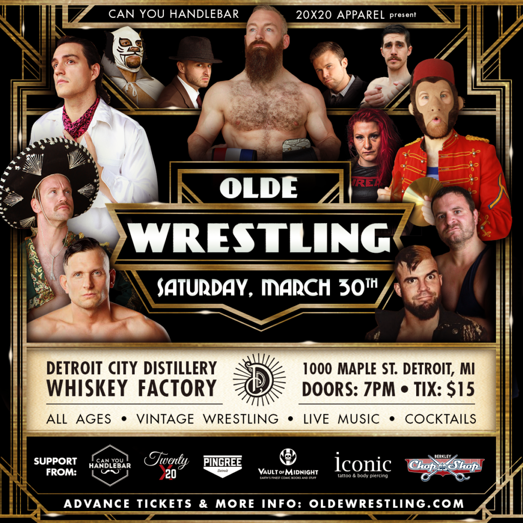 Olde Wrestling Comes to Detroit