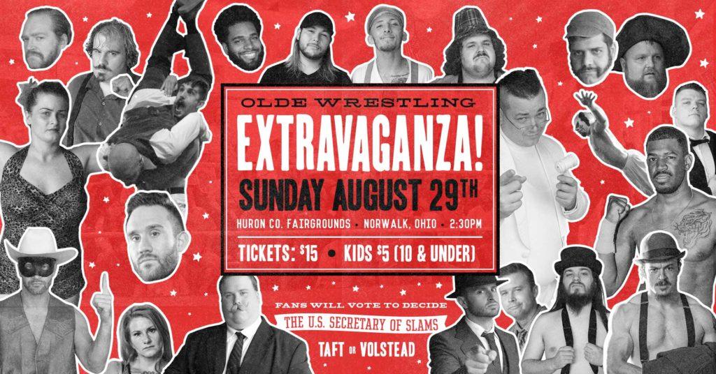 Olde Wrestling returns on Sunday, August 29th