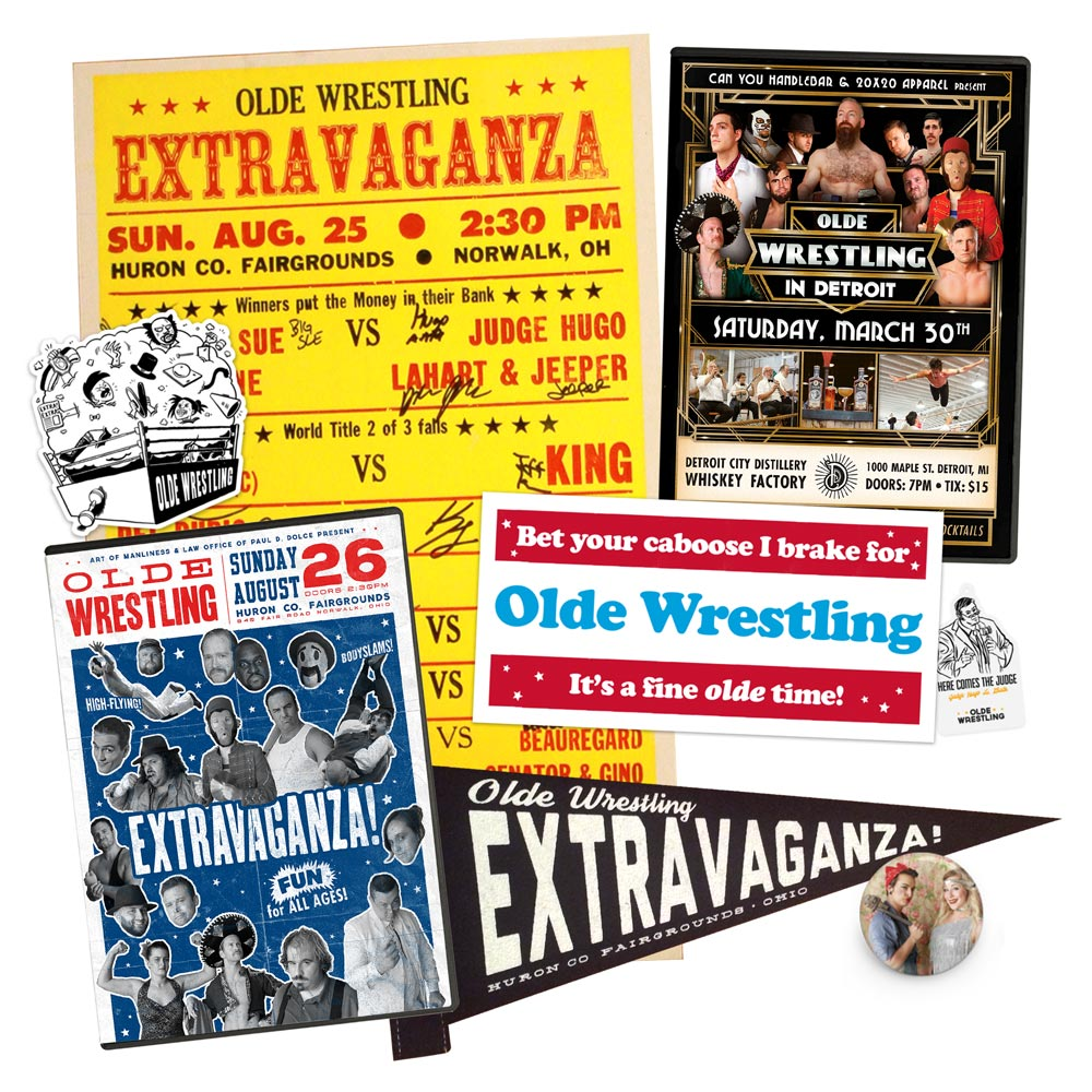 Olde Wrestling Merchandise