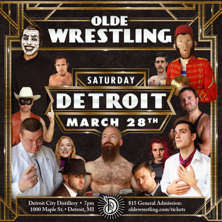 Olde returns to Detroit at the Detroit City Distillery